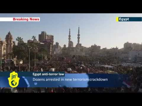 Egypt arrests Muslim Brotherhood members under new law branding group 'terrorist organization'