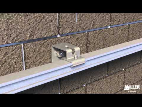 Söll MultiRail® Aluminium - rail installation with locking brackets