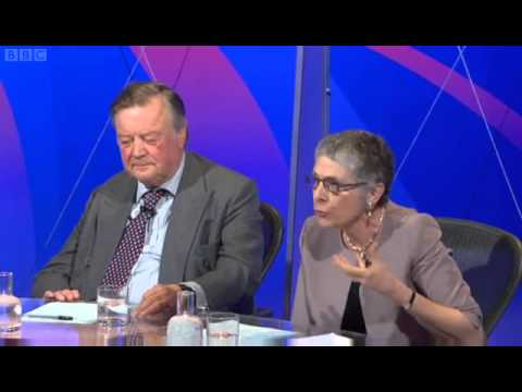 Melanie Phillips  on BBCQT Blasts David Cameron Over UKIP & Conservatisim 07/03/2013