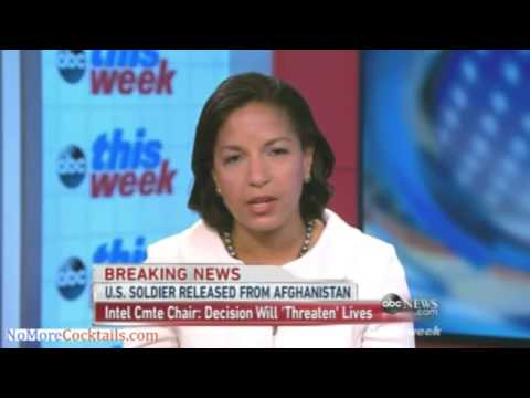 Susan Rice says Bergdahl was captured on the battlefield even though he walked off post