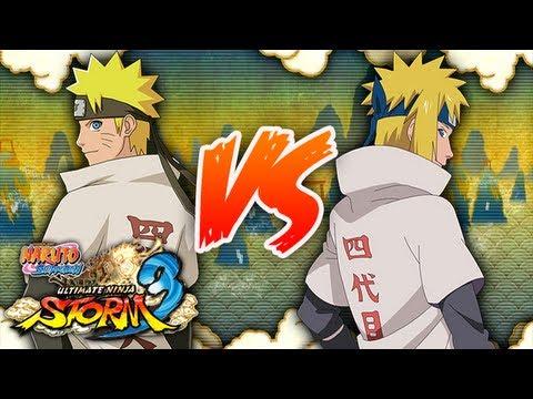 NARUTO SHIPPUDEN: Ultimate Ninja STORM 3 | Hokage Naruto VS Minato, NARUTO SHIPpUdeN !