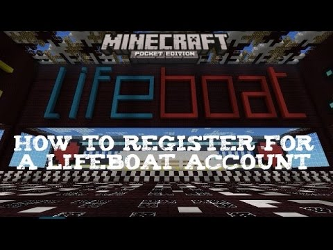 Minecraft PE: How to Register for a LifeBoat Account