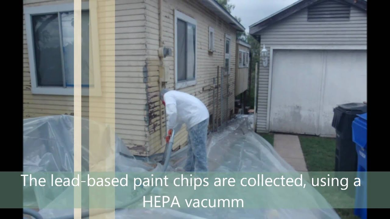 Lead Paint Removal San Diego Youtube
