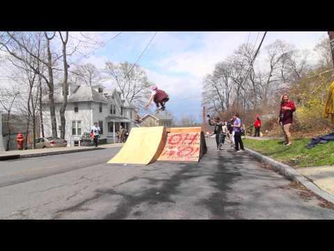 On The Road : Ithaca Skate Jam 2014 (Ithaca Slide Jam)