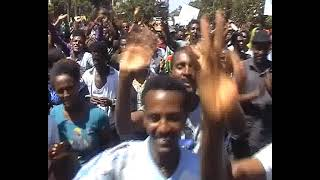 Massive demonstration in Bahr Dar, Ethiopia (video)
