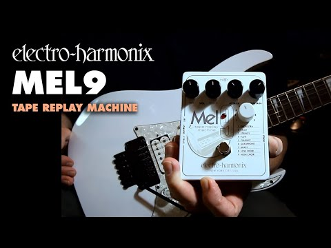 Electro Harmonix MEL9 Tape Replay Machine (Mellotron) Effects Pedal for Guitar