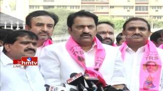 MLA Maganti Gopinath Speaks to Media after Joining TRS