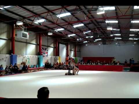 Beth, Indie & Jess Grade 3 women's Acro gymnastics