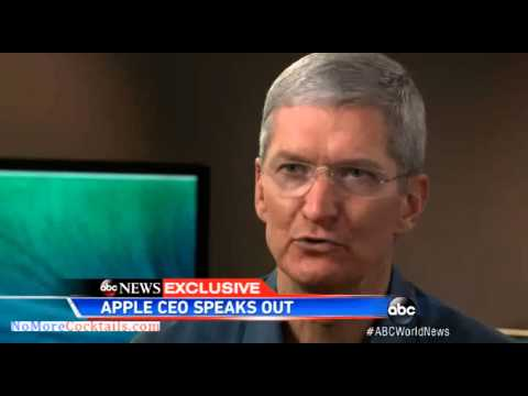 Apple's Tim Cook on NSA spying: There is no back door