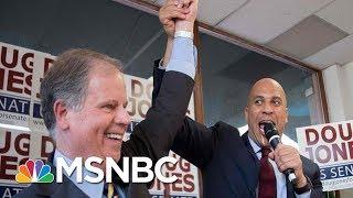 What Steve Kornacki's Map Says About A Doug Jones Win | Morning Joe | MSNBC