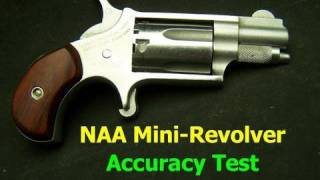 NAA Mini Revolver Accuracy Test