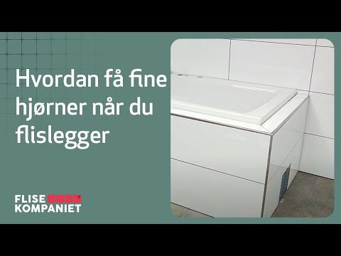 Flisekompaniet - Hvordan få fine hjørner og avslutninger når du flislegger
