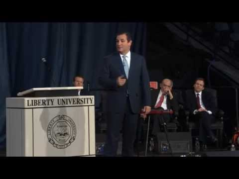 Sen. Ted Cruz at Liberty University