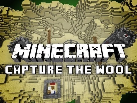 EXTREME STRATEGY Minecraft Capture The Wool Mod w/ BajanCanadian