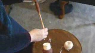 How To Take Off Your Single Ply Yarn From A Hand Spindle