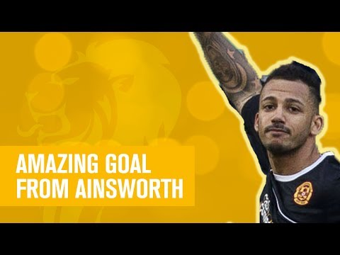 Amazing goal from Lionel Ainsworth!
