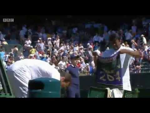 ŠTĚPEC/L.PAES vs. D.Nestor/N.Zimonjic (Wimbledon '14; QF)