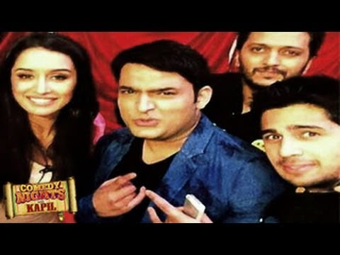 Sidharth Malhotra & Shraddha Kapoor on Comedy Nights with Kapil 29th June 2014 EPISODE | Ek Villain
