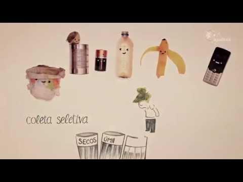 Vídeo Um vídeo didático sobre o lixo