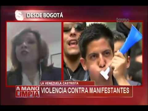 La Venezuela Castrista: Nicolás Maduro prohíbe las protestas - América TeVé