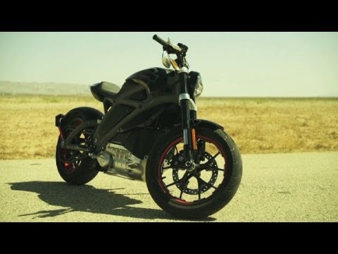 Harley Davidson's electric motorcycle
