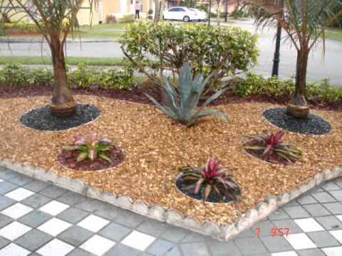 Dise O De Jardines En Miami Youtube