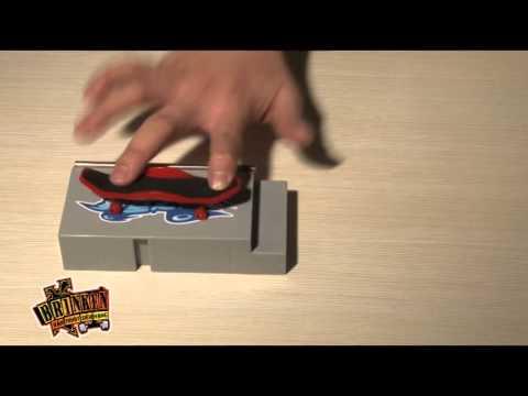 Ván trượt siêu hạng - bật ván ngược - nollie