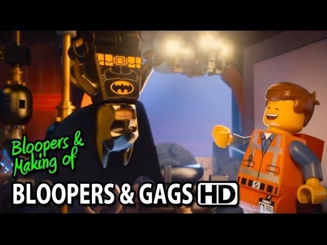 The Lego Movie (2014) Bloopers Outtakes Gag Reel