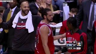 Joakim Noah Ticked Off At Tony Snell