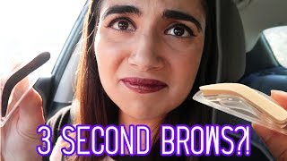 Testing 3-Second Eyebrow Stamps