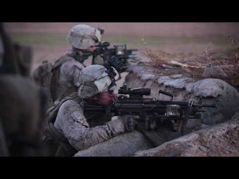 Marines Battle Taliban in Helmand Province During Operation Apache Snow II