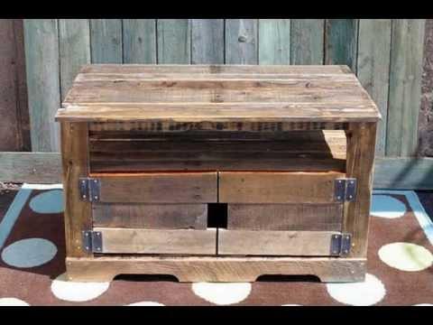 Recopilaci n 2 de imagenes de muebles de palets reciclados for Fabricacion de muebles con palet de madera