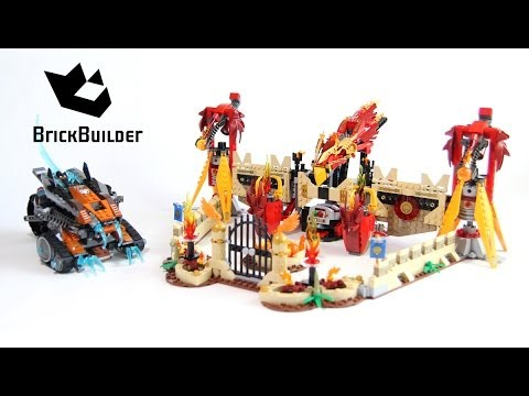 Lego Chima 70146 Flying Phoenix Fire Temple Build and review