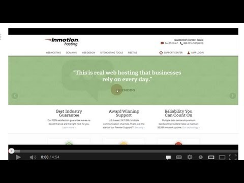 0 Best Web Hosting For Small Business Inmotion Web Hosting Reviews