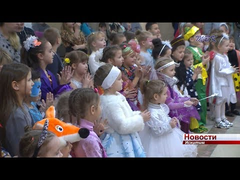 Новогоднюю сказку продлили маленьким жителям Искитима