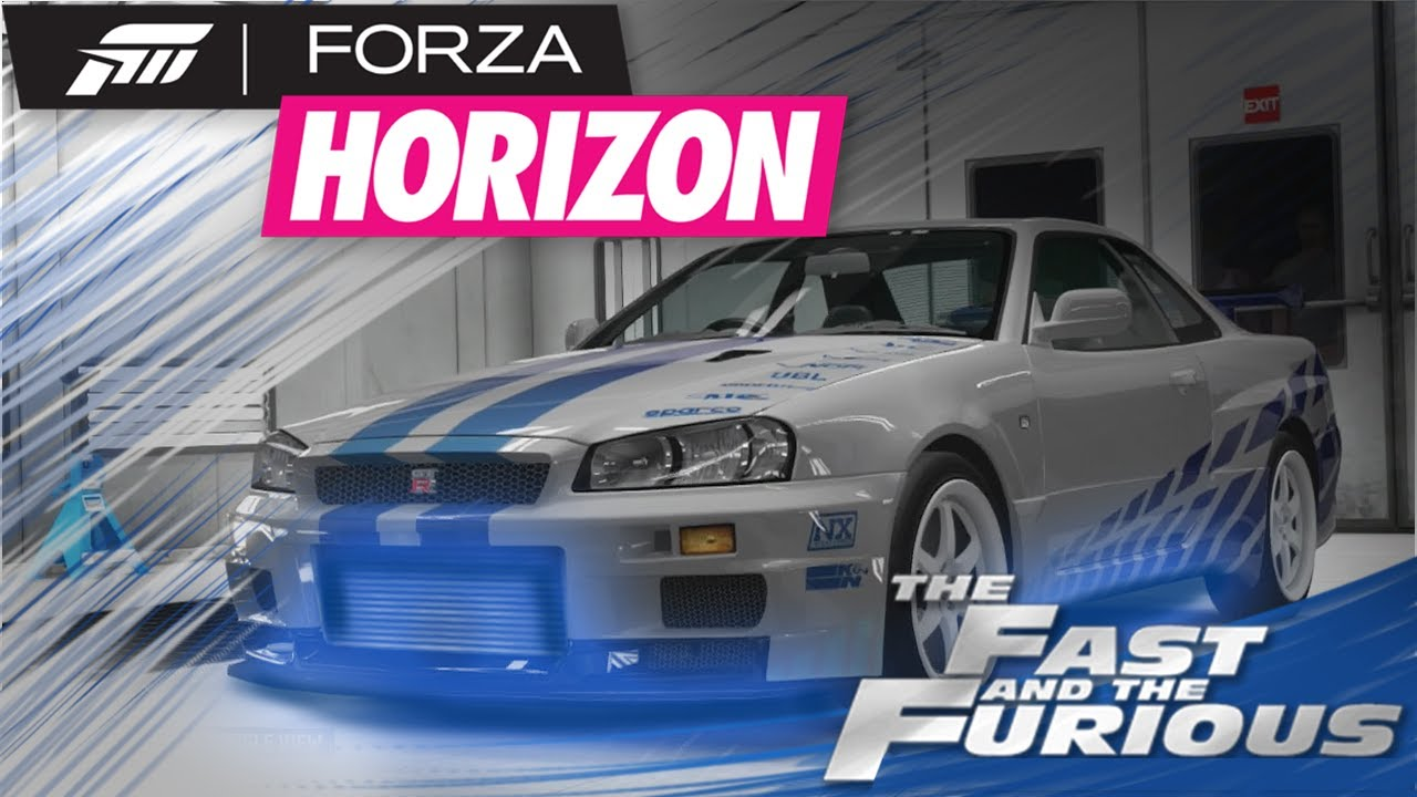 Forza Horizon Ep 16 R I P Paul Walker The Fast And