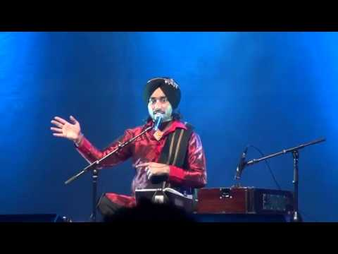 Aashiqui Ji Ede Vi Asool Hunde Ne - Satinder Sartaaj in Sydney, Australia on 12th Nov 2011