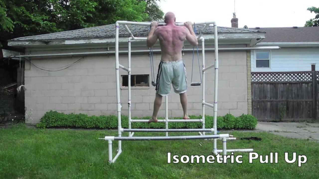 27 Types Of Pull Ups On My Pvc Gym Youtube