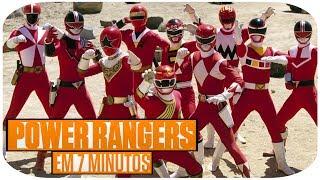 Power Rangers Em 7 Minutos!