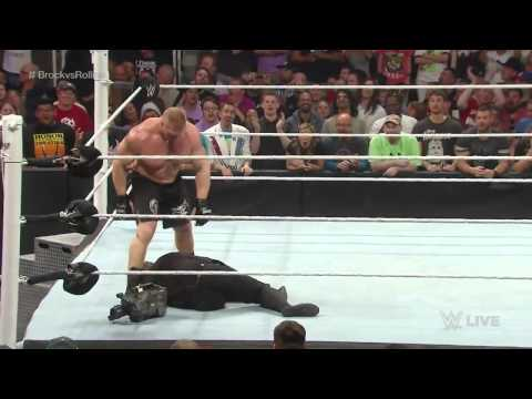Đô vật Mỹ - Seth Rollins vs Brock Lesnar - 30/3/2015