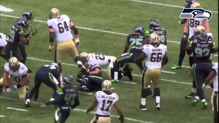 Seattle Seahawks Highlights Vs NO(Divisional Playoffs