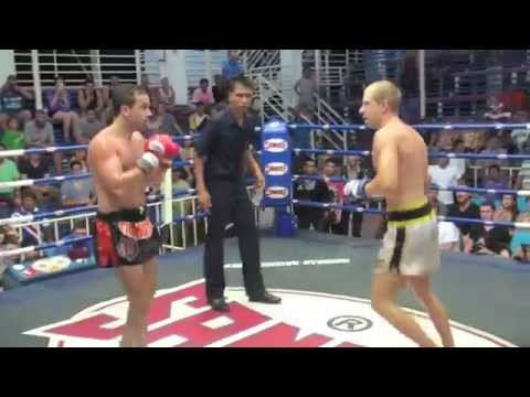 Jonathan Serrano (Tiger Muay Thai) vs Roman (Andaman Boxing Gym) @ Bangla Boxing Stadium 9/7/2014