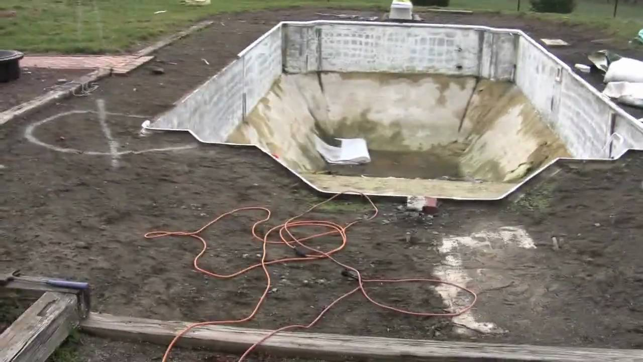 Closing An Inground Swimming Pool Forever Youtube