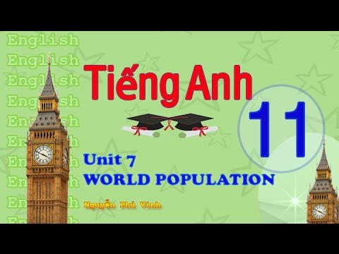 TIẾNG ANH LỚP 11 - UNIT 7 : WORLD POPULATION | ENGLISH 11