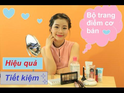 Bộ trang điểm cơ bản cho người mới bắt đầu học | Makeup starter kit| Quin Makeup