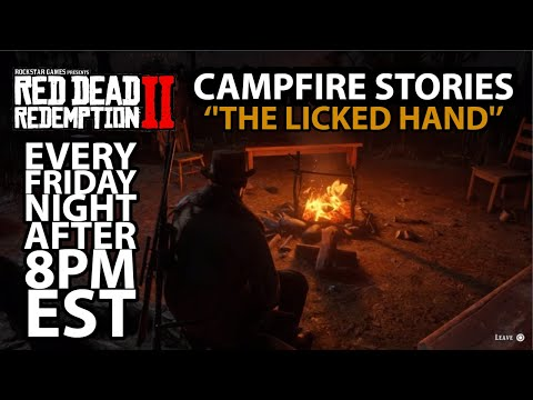 RDR2 Campfire Stories ''The Licked Hand''