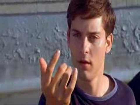 The Funniest Scene Ever In Spiderman One, Go Web Go!!!