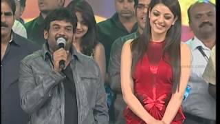 Temper Movie Audio Launch 6-Jr NTR,Kajal Agarwal,Puri Jagannadh