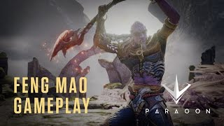 Paragon - Feng Mao Gameplay Highlights