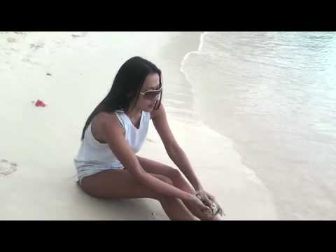 MOCHA USON: walking on the beach (Guam)